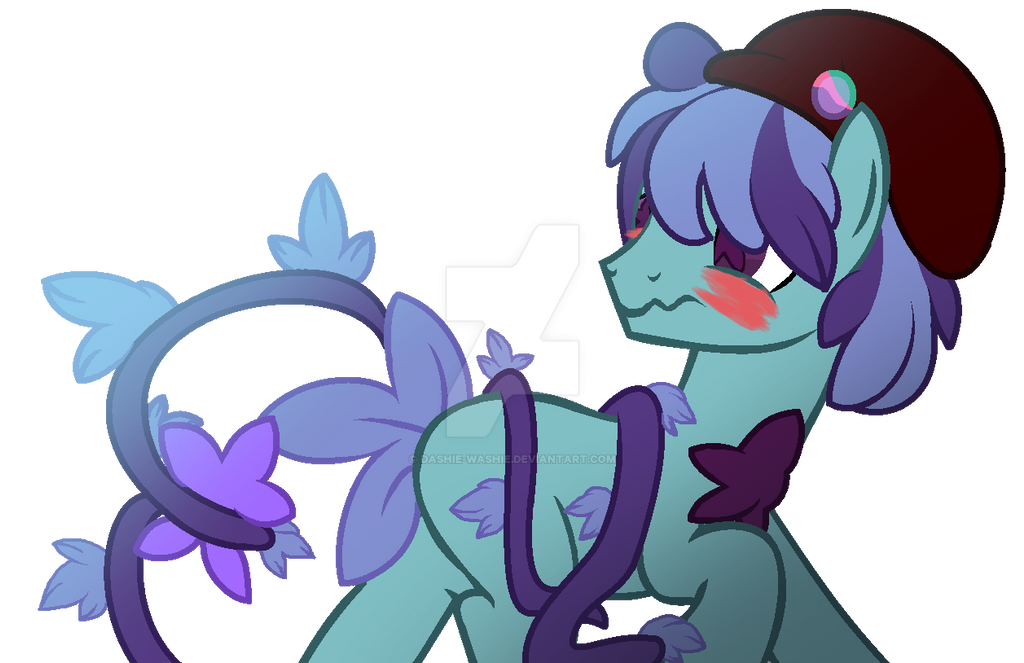 Shy Wittle Thing by Dashie-Washie