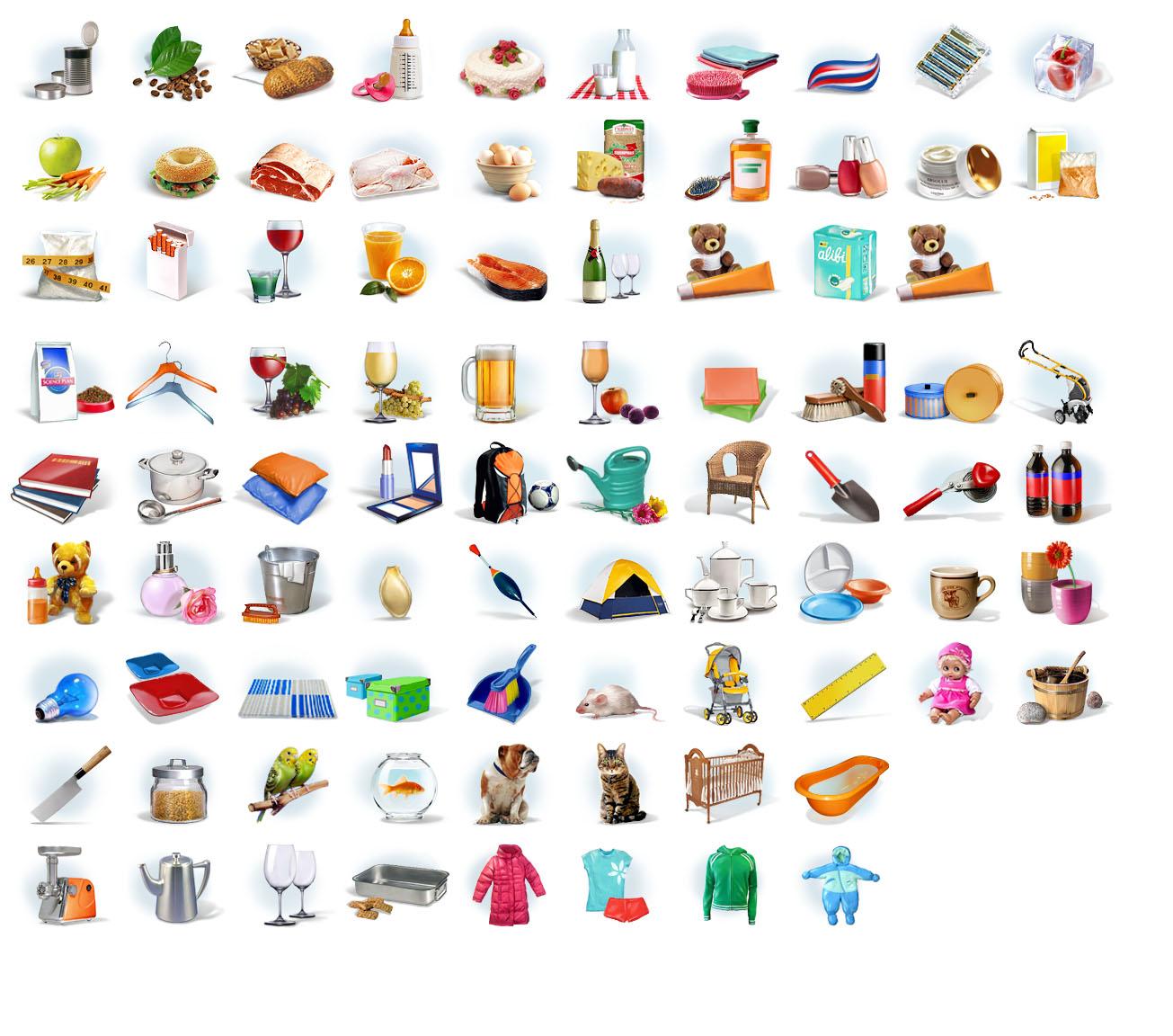 icons for some e-shop