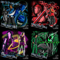 SPB II Shirt Designs by DeForrest