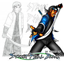14 Years of Street Pedal Black by DeForrest
