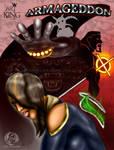 Armageddon Concept Comic Cover by DeForrest