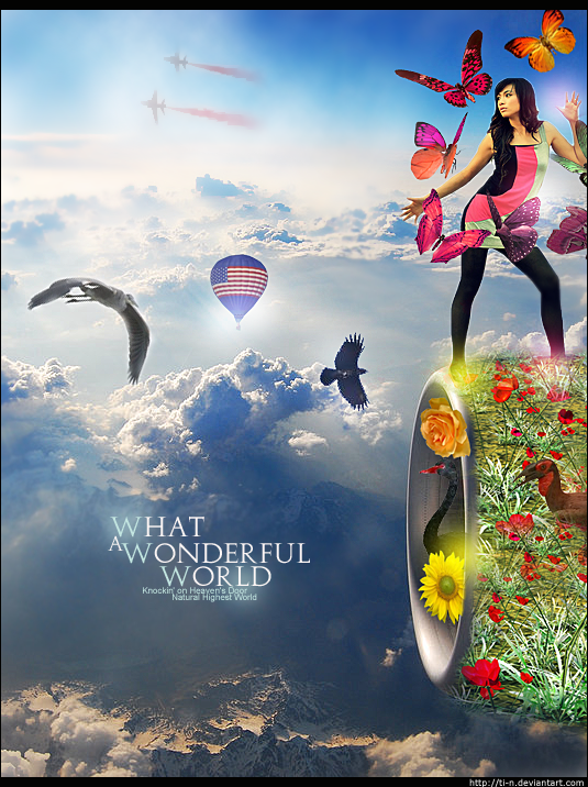 What A Wonderful World by Ti-n