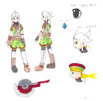 Character Study: Rue by FrostDragonVacu