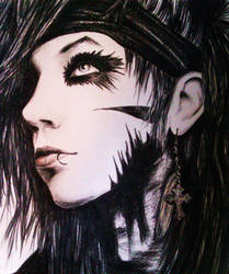 Andy Biersack by duringthisoperation