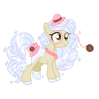 .:CLOSED:. Time Themed HoloCoffee Pony Adopt by Angel-Coffee