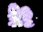 (CLOSED) Crystal HoloCoffee Pony Adopt by Angel-Coffee