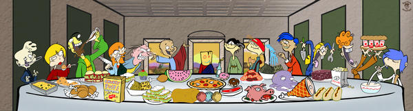 Plank's Last Supper by TheEdMinistrator765