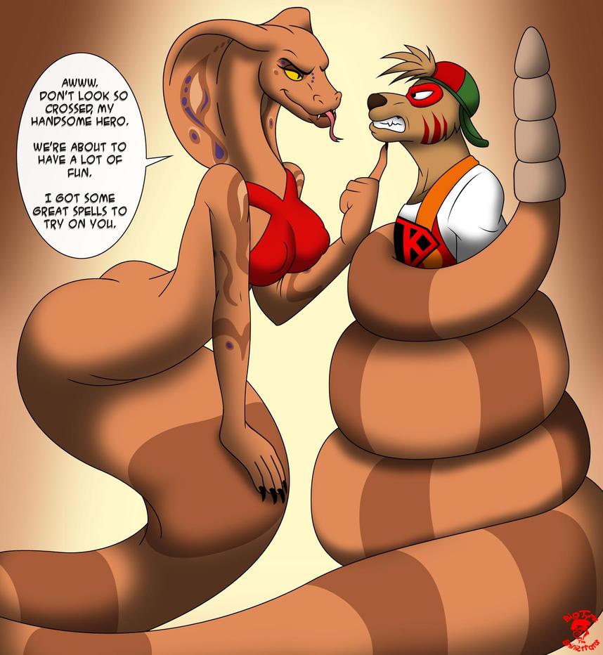 Valentines '13: Blankangaroo VS Jamila by ...