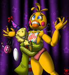 Drawthread Request: Ed and Toy Chica