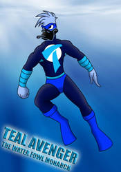 TEAL AVENGER by TheEdMinistrator765