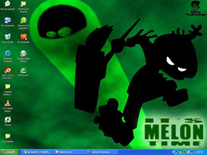 Melonhead Wallpaper by TheEdMinistrator765