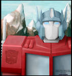 In Earth's Embrace (Optimus Prime)