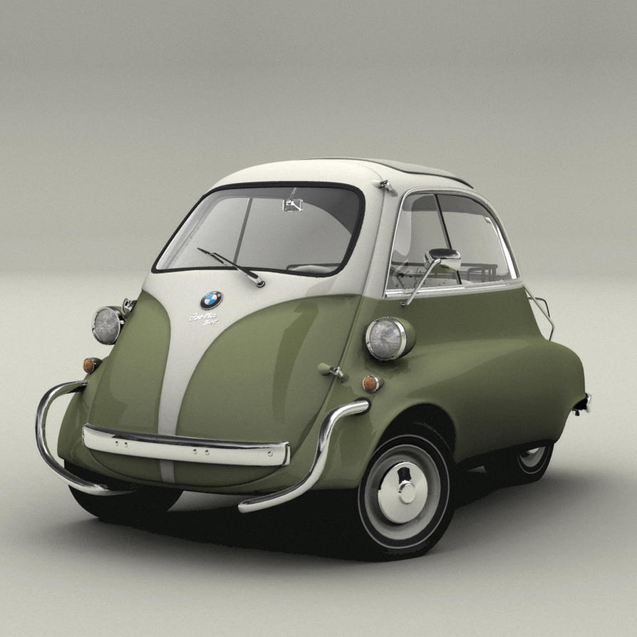 BMW Isetta 300 by kokillo