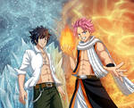Natsu and Gray - Fire and Ice