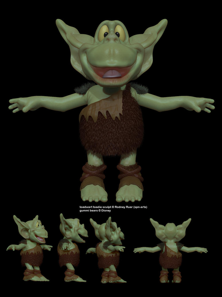 toadwart toadie by spn-arts