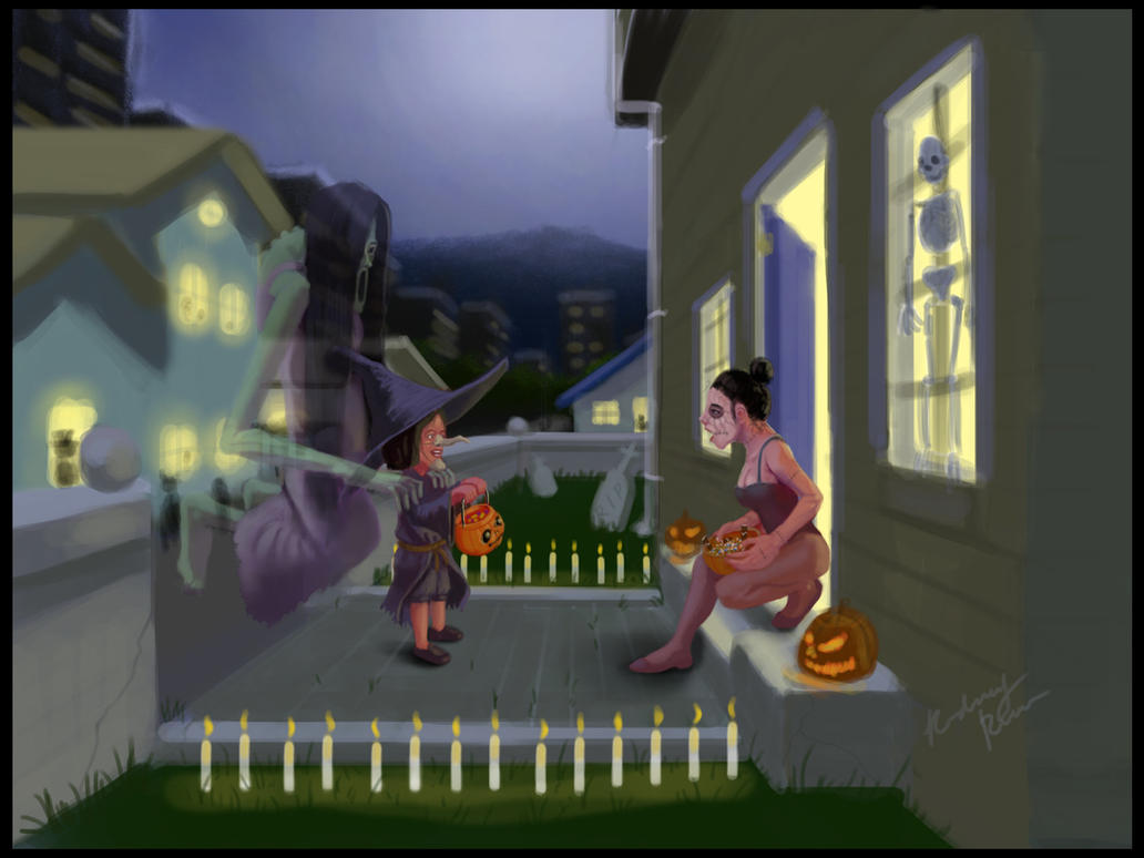 Trick or Treat by spn-arts