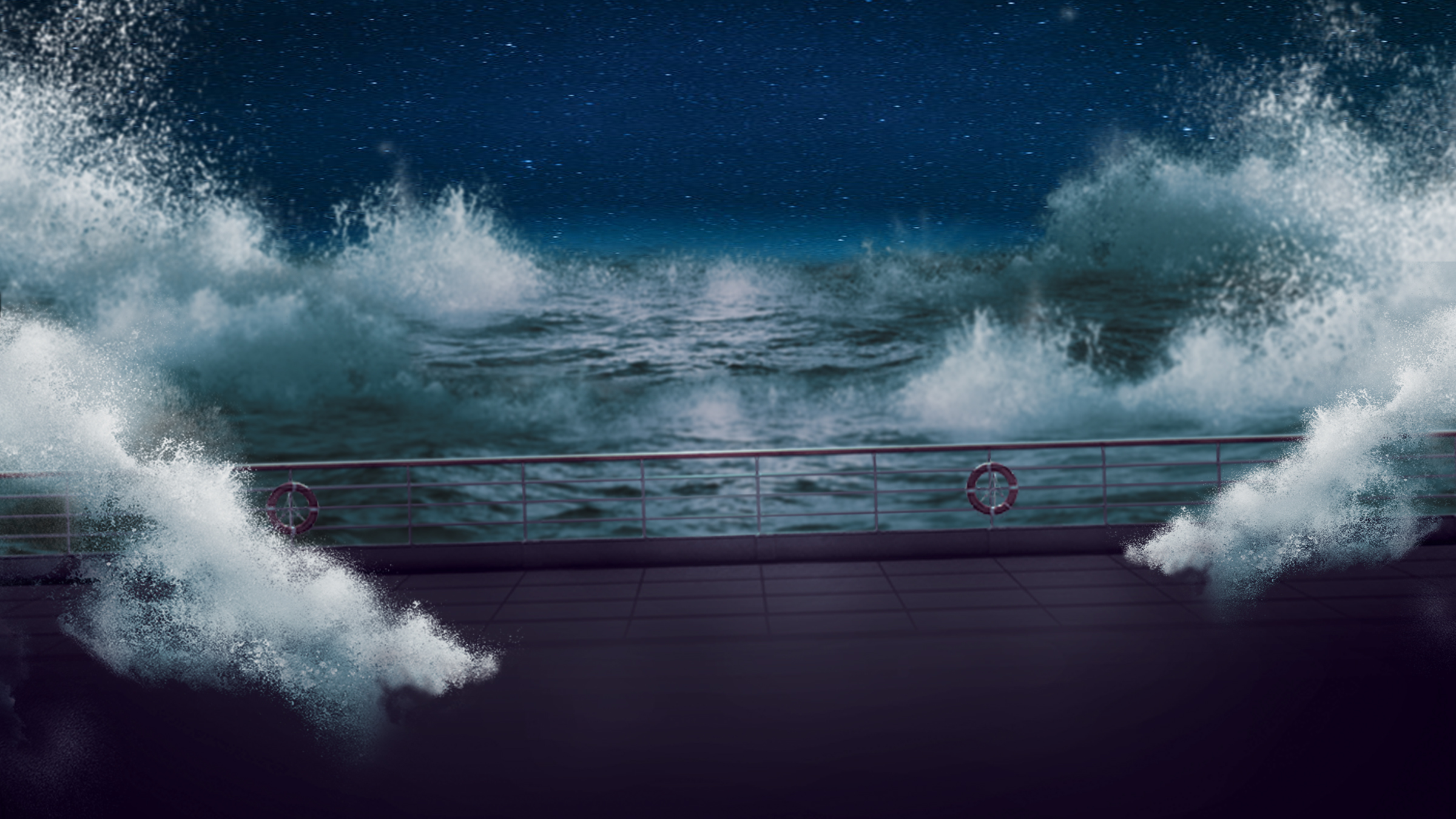 Cruise Ship In A Stormy Sea By DrZurnPhD On DeviantArt