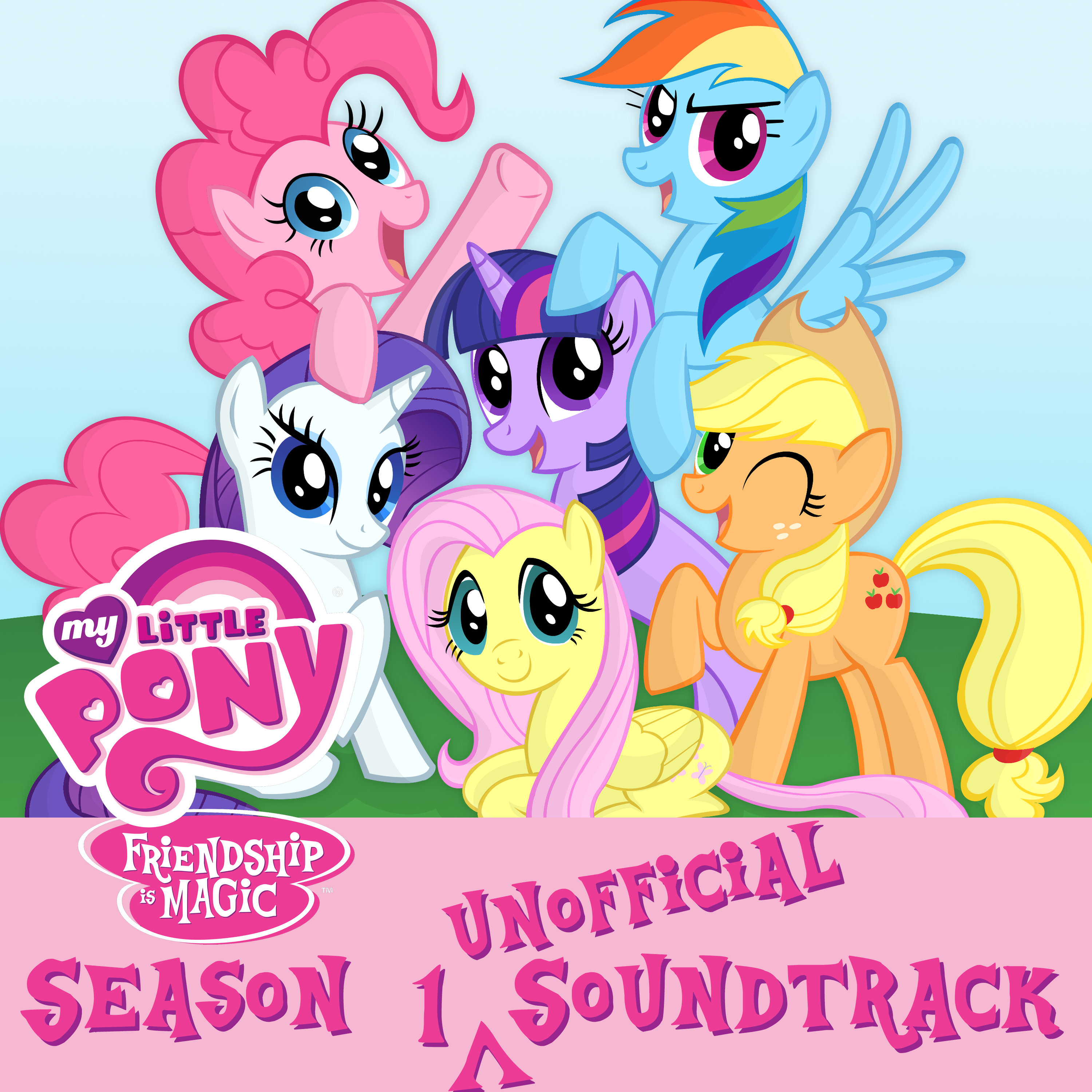 MLP Season 1 Unofficial Soundtrack Version 2.0 by DrZurnPhD