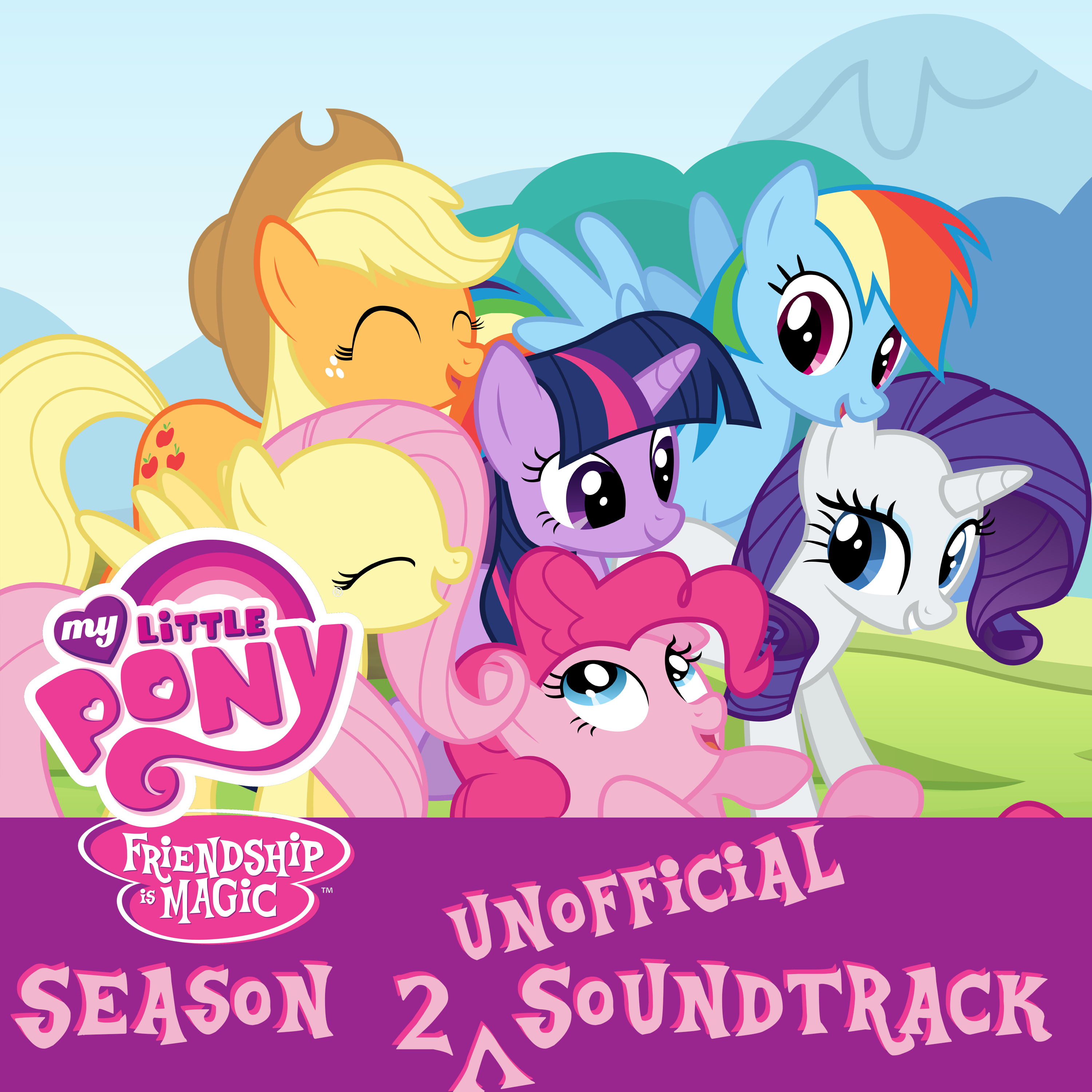 MLP Season 2 Unofficial Soundtrack Version 2.0 by DrZurnPhD