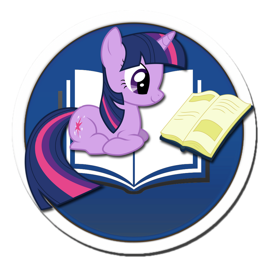 Twilight iBooks Icon (OS X Mavericks) by DrZurnPhD