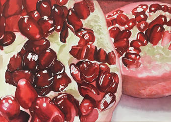 Core of a Pomegranate by Viprion