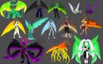 Celestial Titans [Concept Design] by JadeRabbit-Studios