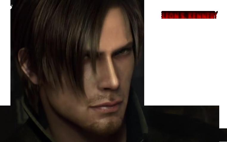 Leon kennedy haircut