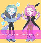- CLOSE - 100 POINTS SB AUCTION HALLOWEEN SERIES 5 by SleepyEuphie