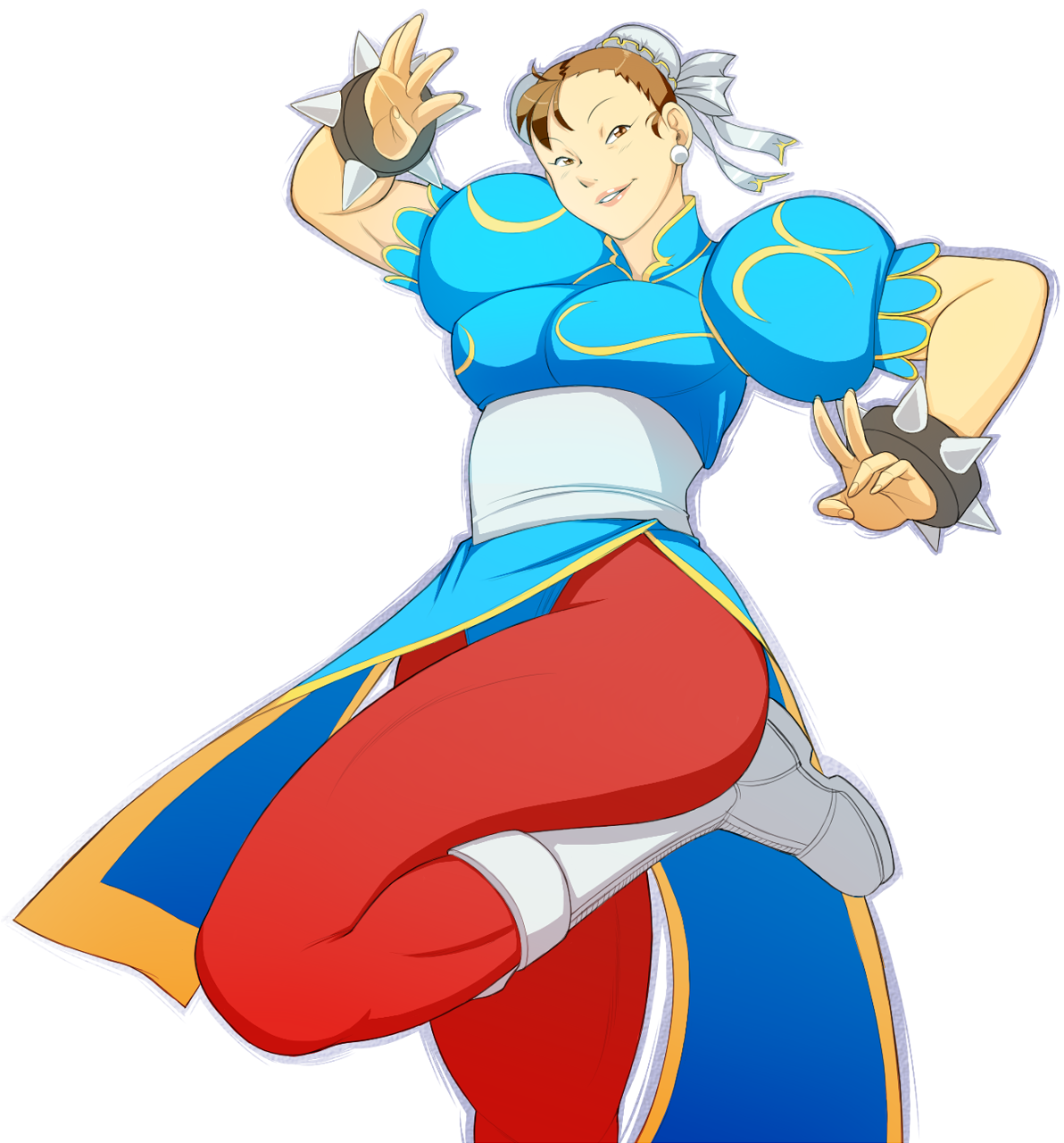 Chun Li Fan art by 4hoursleep