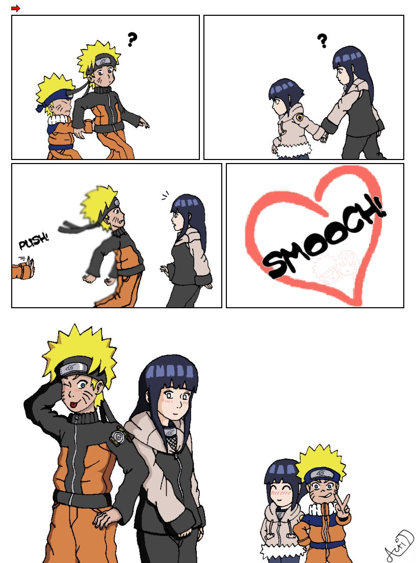 Naruto and Hinata always together
