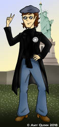 Ten Faces of Tribute: Tom As John Lennon by KemicalReaxion
