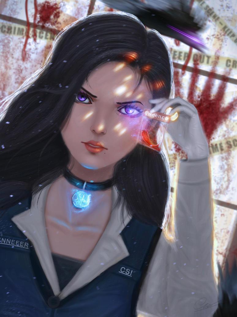 Yennefer the CSI by CaoChiNhan