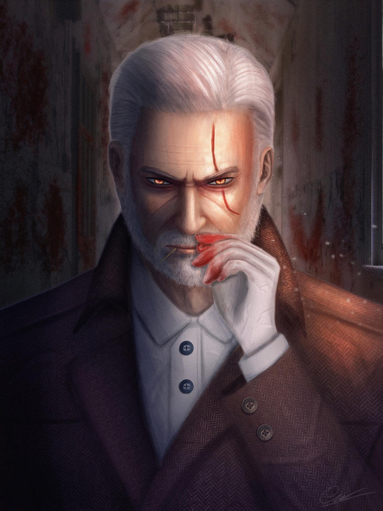 Geralt the detective by CaoChiNhan