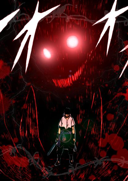 Sasuke demon by saske224 on deviantart - Sasuke uchiwa demon ...