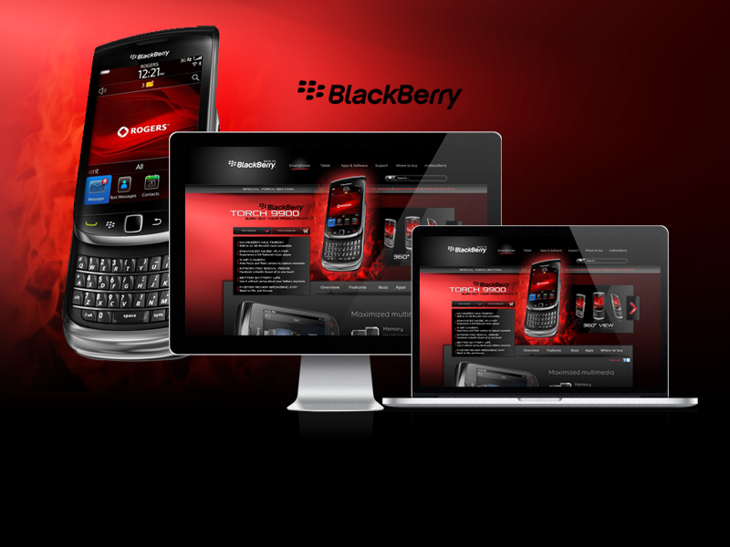 arabic blackberry case study