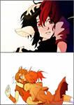 The princess' kiss
