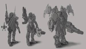 Female Armor Variant 1 WiP