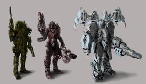 Jes Armor Concepts by psypher101