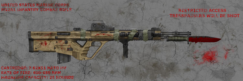 M12A1 ICR (Old, Gen-2) by SomeNavySEALs