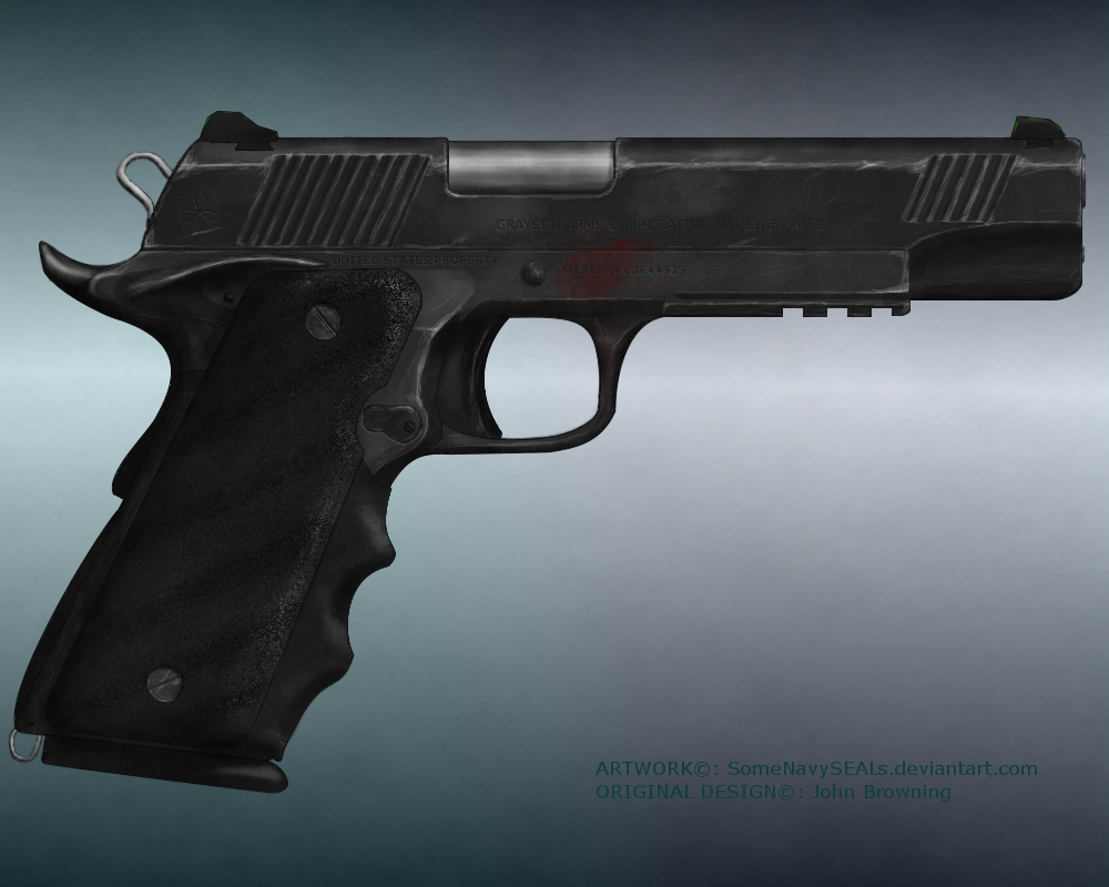M1911A... something (Modernized 1911) by SomeNavySEALs