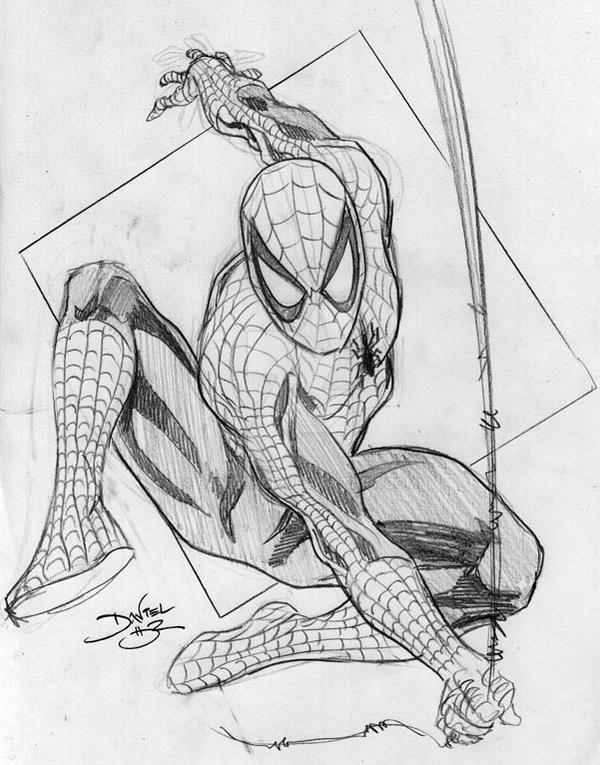 Spider-Man sketch by danielhdr