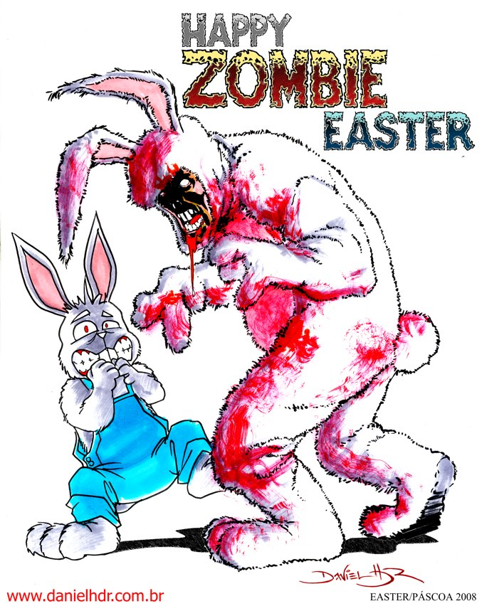Zombie Easter by danielhdr