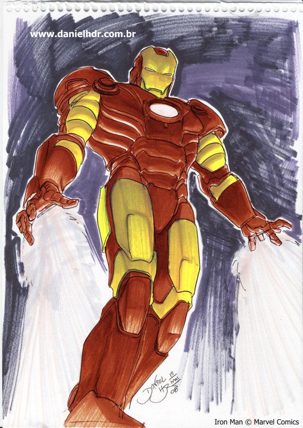 Iron Man by danielhdr