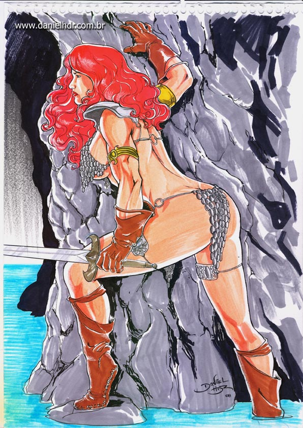 Red Sonja by danielhdr