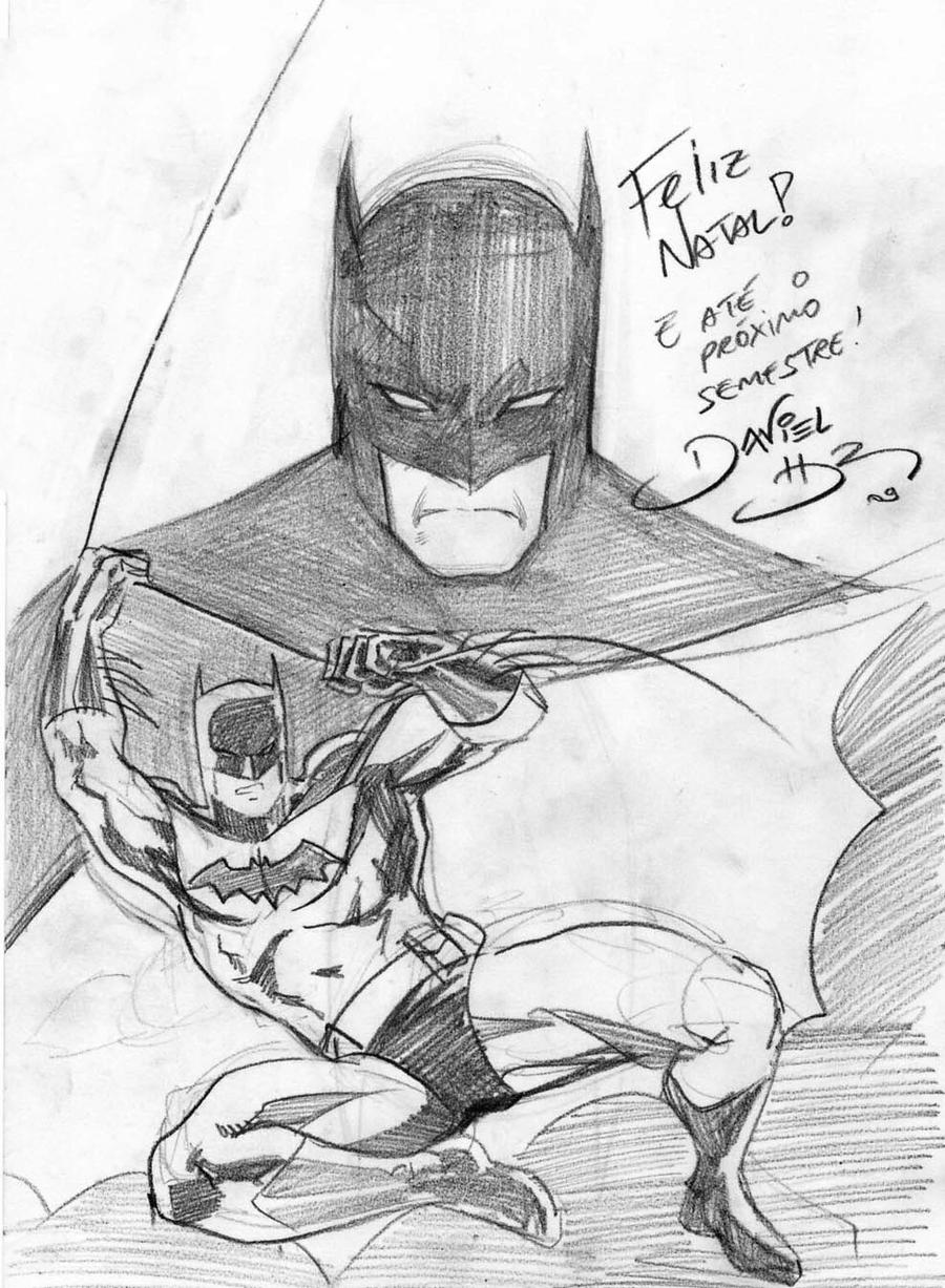 Batman to Leonardo Leao by danielhdr