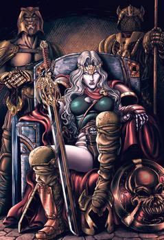 Warrior Lady Death
