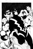 Inhumans by danielhdr