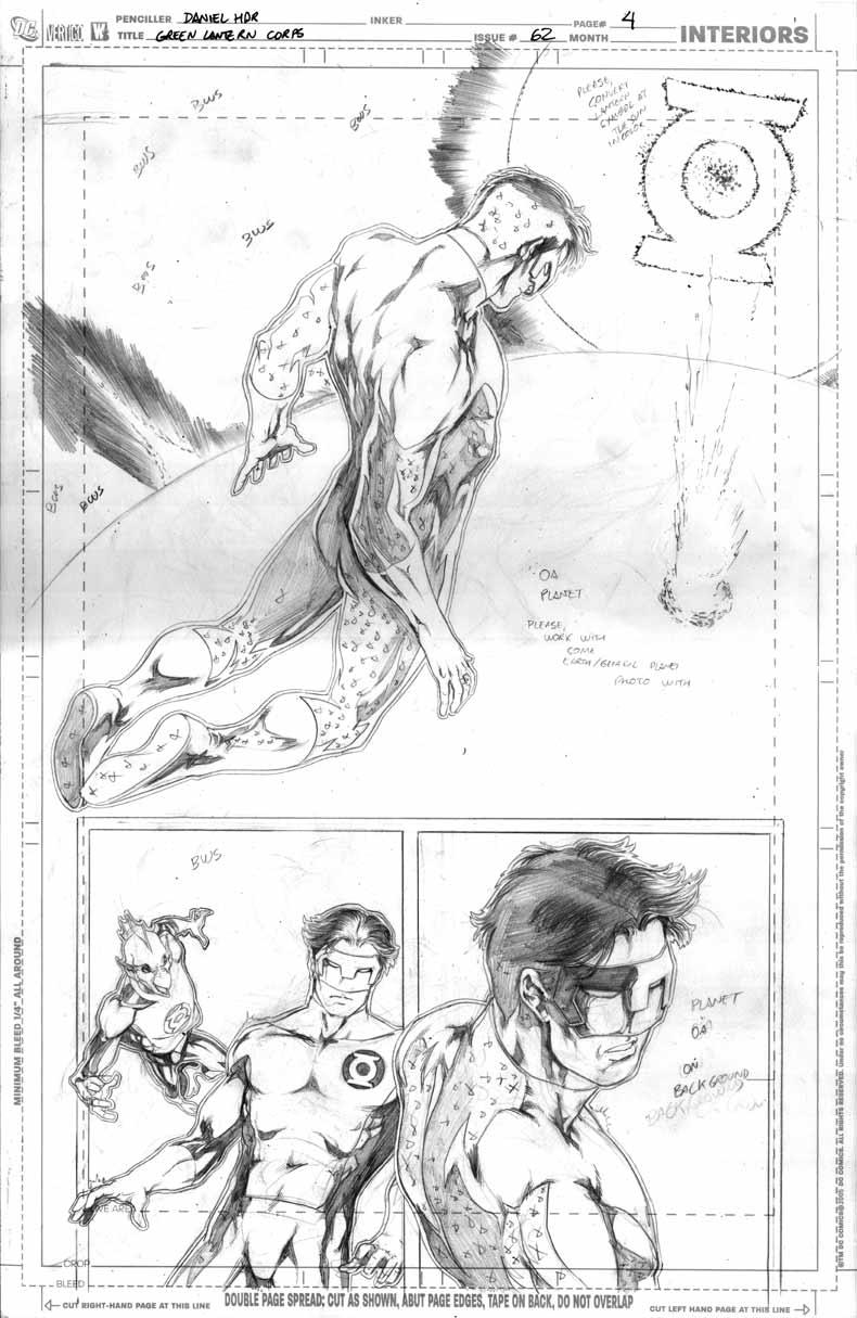 Green Lantern Corps 62 pg04 by danielhdr