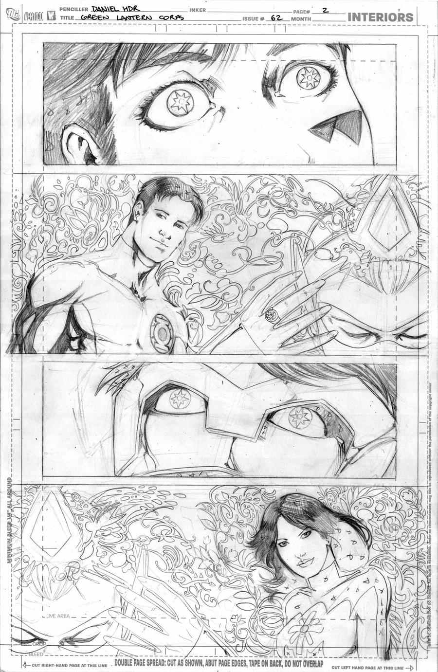 Green Lantern Corps 62 pg02 by danielhdr