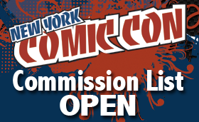 NYCC 2011 Commission List OPEN by danielhdr